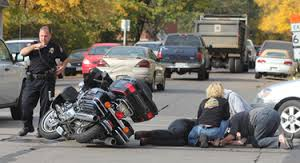 Motorcycle Injury Accident
