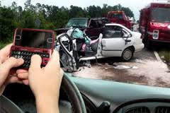 Texting Driving Auto Accident